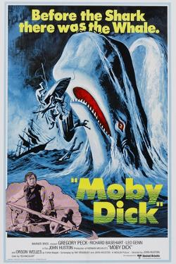 """Herman Melville's Moby Dick, 1956, """"Moby Dick"""" Directed by John Huston"""