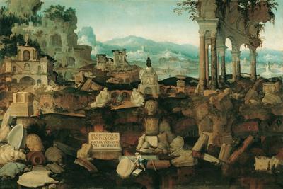 Landscape with Roman Ruins, 1536