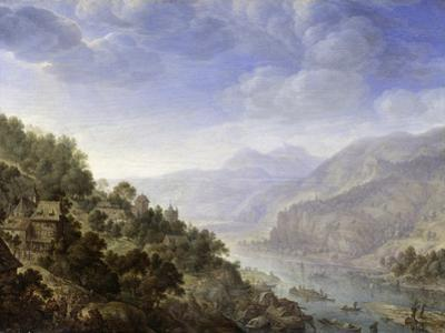 View on the Rhine, 1656