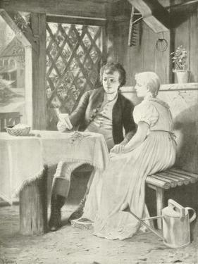 Goethe and Frederike by Hermann Kaulbach