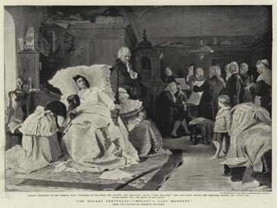 The Mozart Centenary, Mozart's Last Moments