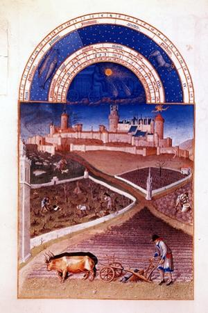 March, 1412-1416 by Hermann Limbourg
