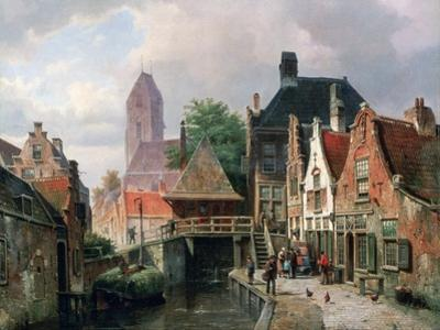 View of Oudewater, C1867
