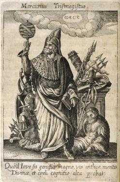 Hermes Trismegistus, Perceived by Neoplatonists as the Presiding Deity of Alchemy