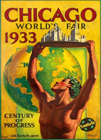 Chicago World's Fair 1933, Century of Progress, Santa Fe Railroad