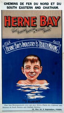 Herne Bay, It's Ripping!, SE & CR, c.1920s