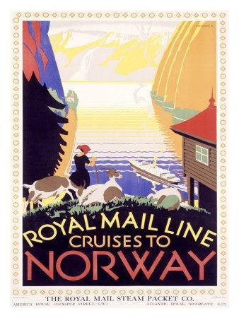Royal Mail Ocean Line, Norway