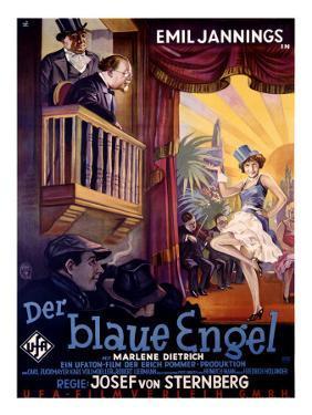 Marlene Dietrich in Blue Angel by Herrmann