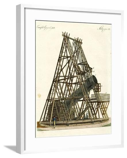 Herschel's Telescope--Framed Giclee Print