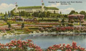 Hershey Rose Garden and Hotel, Hershey, Pennsylvania