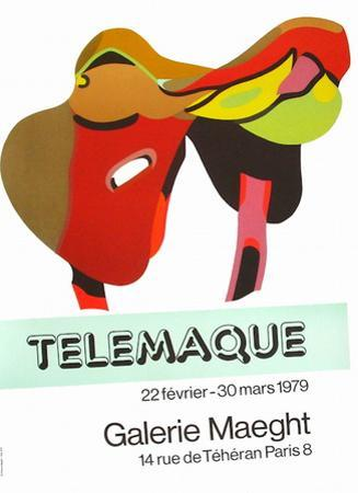 Expo Galerie Maeght 79 by Herve Telemaque