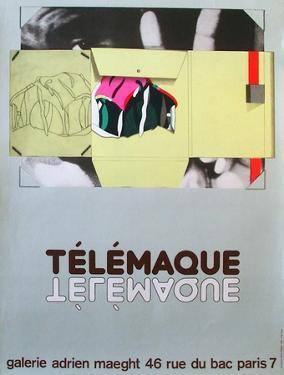 Expo Galerie Maeght 81 by Herve Telemaque