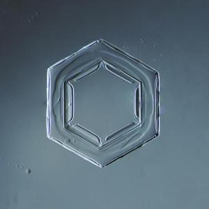 Hexagonal Plate Snowflake