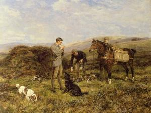 Grouse Shooting, 1901 by Heywood Hardy