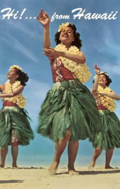 Hi from Hawaii, Hula Dancers
