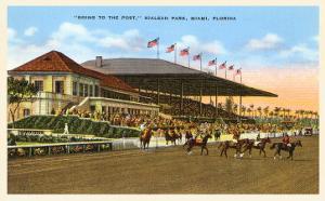 Hialeah Race Track, Miami, Florida