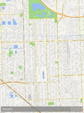 Hialeah, United States of America Map
