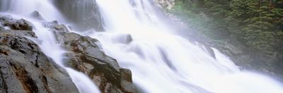 Hidden Falls, Cascade Canyon, Grand Teton National Park, Wyoming, USA