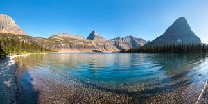 Hidden Lake in Late Afternoon, Glacier National Park, Montana, USA
