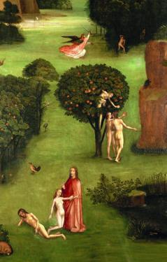 Adam and Eve; Expulsion from Paradise by Hieronymus Bosch