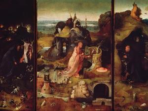 Altarpiece of the Hermits by Hieronymus Bosch