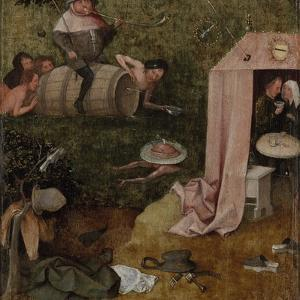 An Allegory of Intemperance, C.1495-1500 by Hieronymus Bosch