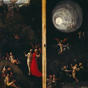 Ascent in Empyrean by Hieronymus Bosch