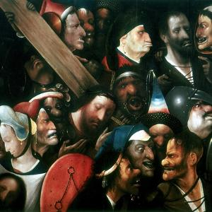 Carrying the Cross, C1480-1516 by Hieronymus Bosch