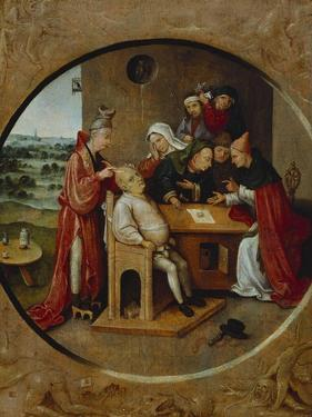 Cutting the Stone, or the Cure of Folly by Hieronymus Bosch