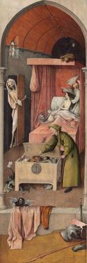 Death and the Miser, Ca 1485 by Hieronymus Bosch
