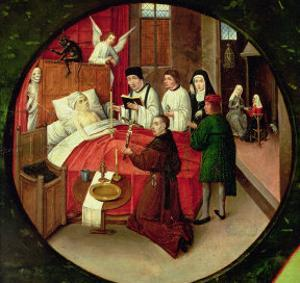 Death, Detail from the Table of the Seven Deadly Sins and the Four Last Things by Hieronymus Bosch