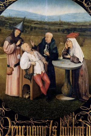 Extraction of the Stone of Madness by Hieronymus Bosch