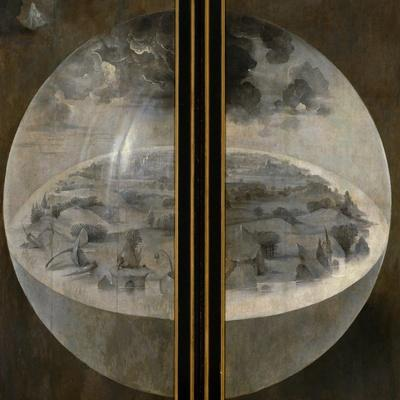 Garden of Delights, Closed Wings: The Creation of the World, Triptich with Shutters