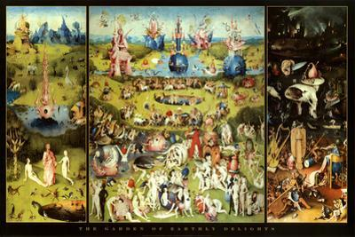 Hieronymus Bosch Garden of Earthly Delights Art Print Poster