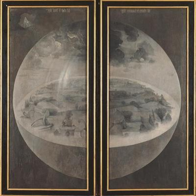 Garden of Earthly Delights, Creation of the World by Hieronymus Bosch