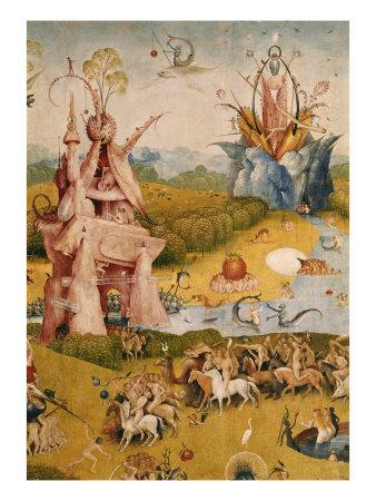 Garden Of Earthly Delights, Detail No.3Hieronymus Bosch. Giclee Print