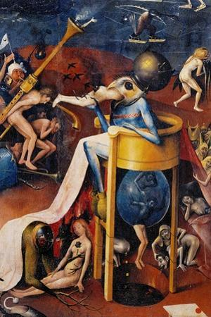 Garden of Earthly Delights-Hell Music by Hieronymus Bosch