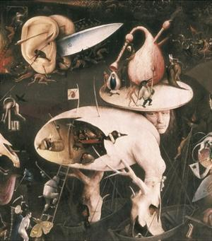 Garden of Earthly Delights by Hieronymus Bosch