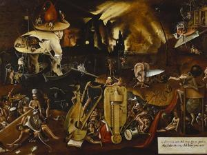 Hell by Hieronymus Bosch
