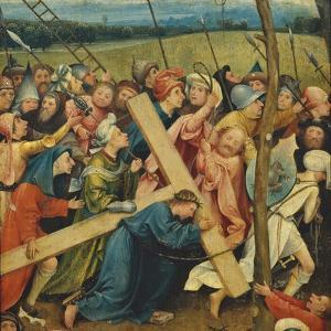 Road to Calvary by Hieronymus Bosch