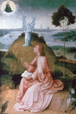 St John the Evangelist on Patmos, 1504-1505 by Hieronymus Bosch