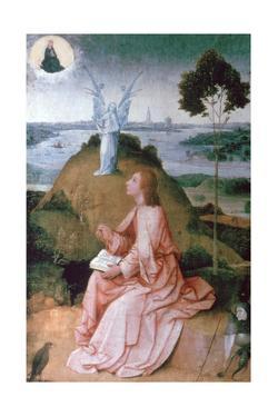 St John the Evangelist on Patmos, 1504-1505 by Hieronymus Bosch