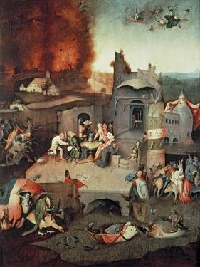 Temptation of Saint Anthony, c.1500 by Hieronymus Bosch