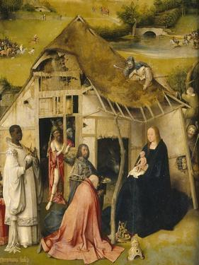 The Adoration of the Kings, C. 1495 by Hieronymus Bosch
