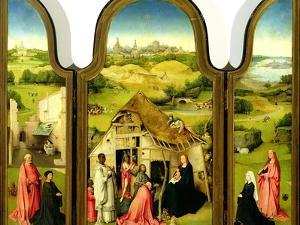 The Adoration of the Magi, 1510 by Hieronymus Bosch
