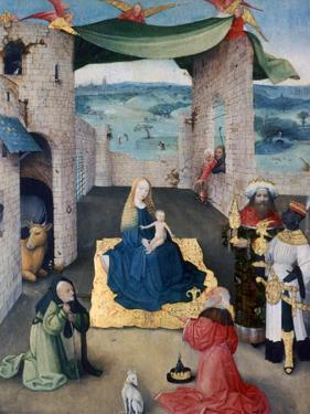 The Adoration of the Magi, C1490 by Hieronymus Bosch