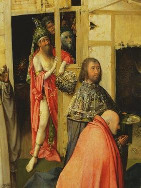The Adoration of the Magi, Detail of the Antichrist, 1510 (Detail of 3427) by Hieronymus Bosch