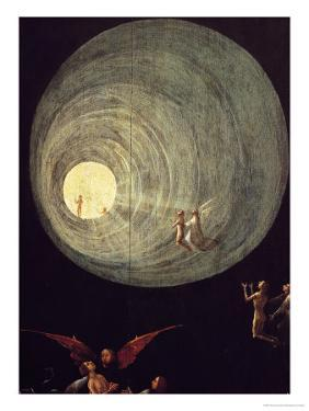 The Ascent of the Blessed, Detail from a Panel of an Alterpiece Thought to be of the Last Judgement by Hieronymus Bosch