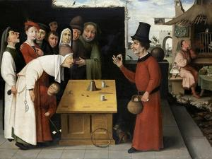 The Charlatan by Hieronymus Bosch