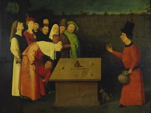 The Conjuror, 1475-80 by Hieronymus Bosch